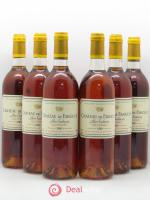 Château de Fargues  1989 - Lot of 6 Bottles