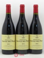 IGP Pays d'Hérault Grange des Pères Laurent Vaillé  2013 - Lot of 3 Bottles