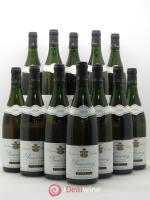 Bottle Vouvray Clos Naudin - Philippe Foreau  1999 - Lot of 12 Bottles