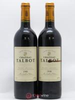 Château Talbot 4ème Grand Cru Classé 1998