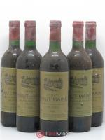 Graves Chateau Haut Maine 1986 - Lot of 5 Bottles