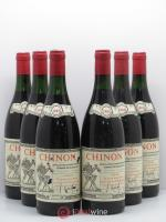 Chinon Domaine Beausejour 1985 - Lot of 6 Bottles