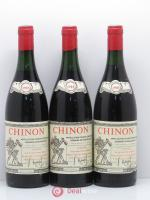 Chinon Domaine Beausejour 1985 - Lot of 3 Bottles