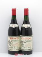 Chinon Domaine Beausejour 1985 - Lot of 2 Bottles