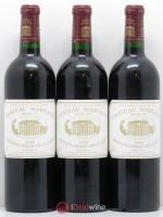 Château Margaux 1er Grand Cru Classé  2000 - Lot of 3 Bottles