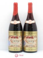 Givry Domaine Jean Morin 1985 - Lot de 2 Magnums