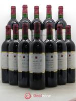 Bottle Graves Château du Maine 1995 - Lot of 12 Bottles