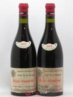 Mazis-Chambertin Grand Cru Dominique Laurent Vieilles Vignes Cuvée B 2003