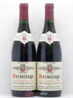 Hermitage Jean-Louis Chave  1990 - Lot of 2 Bottles