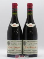 Clos de Vougeot Grand Cru Vieilles vignes Sui Generis Dominique Laurent 2002