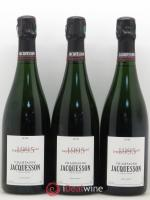 Avize DT (Dégorgement Tardif) Jacquesson  1995 - Lot of 3 Bottles