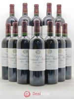 Bottle Château Sociando Mallet  2001 - Lot of 12 Bottles
