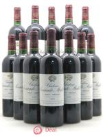 Bottle Château Sociando Mallet  1999 - Lot of 12 Bottles