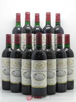 Bottle Château Camensac 5ème Grand Cru Classé  1983 - Lot of 12 Bottles