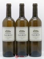 Château Talbot Caillou Blanc 2010