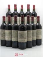 Bottle Domaine de Chevalier Cru Classé de Graves  1996 - Lot of 12 Bottles