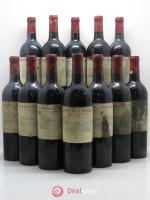 Bottle Domaine de Chevalier Cru Classé de Graves  1999 - Lot of 12 Bottles