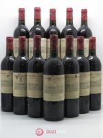 Bottle Domaine de Chevalier Cru Classé de Graves  1998 - Lot of 12 Bottles