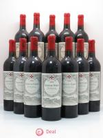 Bottle Château Gazin  2000 - Lot of 12 Bottles