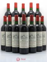 Bouteille Moulin de La Lagune Second vin 1998
