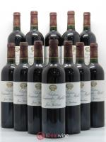 Bottle Château Sociando Mallet  2005 - Lot of 12 Bottles