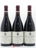 Clos des Lambrays Grand Cru Domaine des Lambrays  2011 - Lot of 3 Bottles