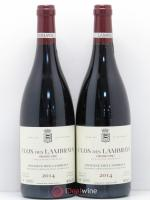 Clos des Lambrays Grand Cru Domaine des Lambrays  2014 - Lot of 2 Bottles