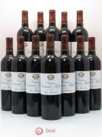 Bottle Château Sociando Mallet  2009 - Lot of 12 Bottles