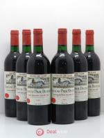 Château Pavie Decesse Grand Cru Classé  1986 - Lot of 6 Bottles