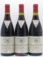 Côtes du Rhône Château de Fonsalette SCEA Château Rayas 1987