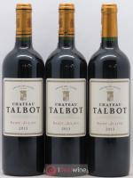Château Talbot 4ème Grand Cru Classé 2013