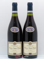 Morey Saint-Denis Les Cazots Françoise Chauvenet 1996 - Lot of 2 Bottles