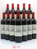 Bottle Château Haut Marbuzet  2008 - Lot of 12 Bottles