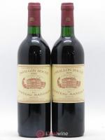 Pavillon Rouge du Château Margaux Second Vin 1990