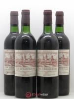Cos d'Estournel 2ème Grand Cru Classé  1975 - Lot of 4 Bottles