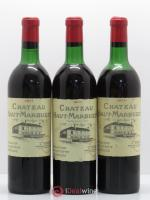 Château Haut Marbuzet  1971 - Lot of 3 Bottles