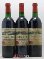 Château Pavie 1er Grand Cru Classé A  1989 - Lot of 3 Bottles