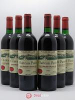 Château Pavie 1er Grand Cru Classé A  1990 - Lot of 6 Bottles