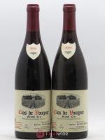 Clos de Vougeot Grand Cru Domaine Henri Rebourseau 2000