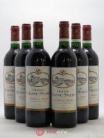 Château Chasse Spleen  1996 - Lot of 6 Bottles