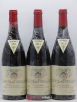 Côtes du Rhône Château de Fonsalette SCEA Château Rayas  2011