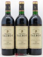 Château Talbot 4ème Grand Cru Classé 1989