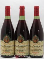 Charmes-Chambertin Grand Cru Confrérie des Chevaliers du Tastevin Mommessin Tastevinage 1972