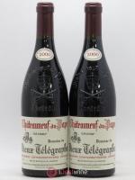 Châteauneuf-du-Pape Vieux Télégraphe (Domaine du) Vignobles Brunier La Crau 2000