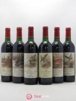 Côtes de Provence La Pirsch, La Passé, La Battue, La Dame des Bois, Le Déboulé, La Sauvagine Les Maîtres Vignerons de St Tropez 1985