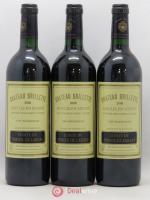 Château Brillette Cru Bourgeois 2000
