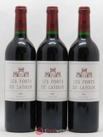 Les Forts de Latour Second Vin 2001