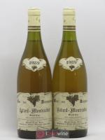 Bâtard-Montrachet Grand Cru Etienne Sauzet 1989