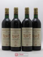 Lussac-Saint-émilion Château Mayne Blanc Cuvée Saint Vincent 1985