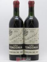 Rioja DOCa Vina Tondonia Gran Reserva Lopez de Heredia 1991